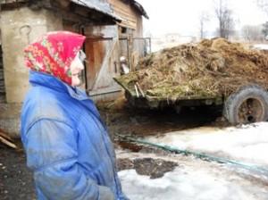 Monika Mikutavičienė tikina, kad gyvulių be mėšlo nebūna...