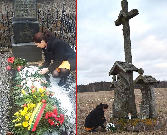 Vasario 16-ąją merės Živilės Pinskuvienės puokštė padėta ant Musninkuose besiilsinčio kunigo, signataro Alfonso Petrulio kapo. Vasario 16-osios išvakarėse pagerbtas 1998 m. Draučių tragedijos aukų atminimas