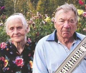 Vanda ir Alfonsas Motiejūnai šventė 60-ąjį bendro gyvenimo jubiliejų.