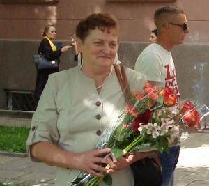 Motiejūnų kaimo gyventoja Jadvyga Jančiauskienė sakosi esanti laiminga mama.