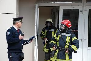 Eugenijaus Iziumcevo nurodymai ugniagesiams.