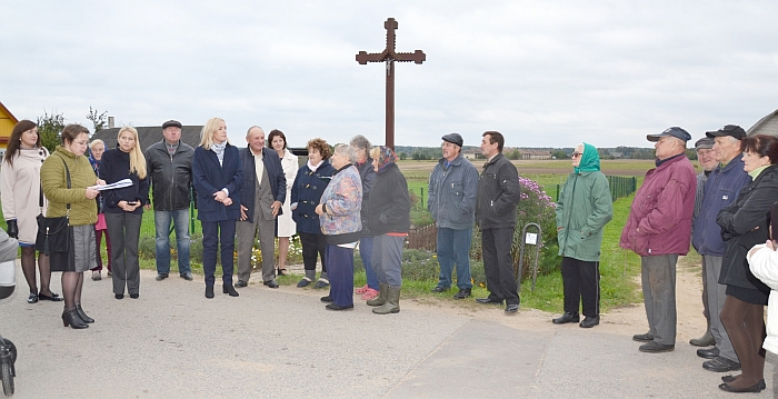Susitikimo metu aptarti ir kiti kaimo bendruomenei aktualūs klausimai.