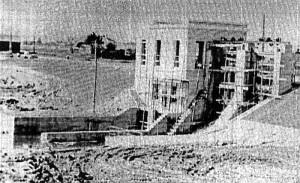 Motiejūnų HE statyba 1957-1959 metais