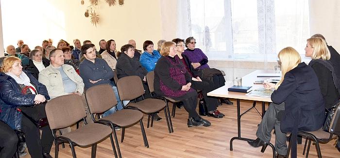 Su Musninkų gyventojais aptartas daug diskusijų sulaukęs klausimas - artėjantis vandentvarkos projekto įgyvendinimas.