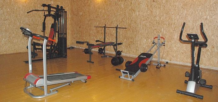 Musninkuose bendruomenės pastangų dėka neseniai duris atvėrė sporto klubas.