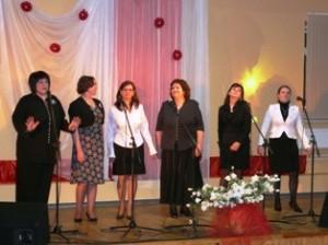 Musninkų kultūros namų moterų vokalinis ansamblis (vadovė Dalia Kiaulevičiūtė).