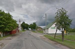 Sunkiai apgirtęs vairuotojas įkliuvo Musninkuose (googlemaps nuotr.).