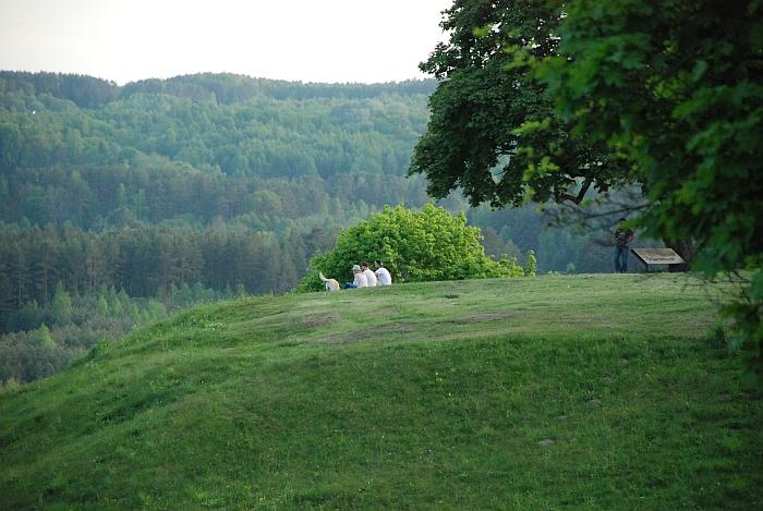 Lankytojai visiškai atitrūko kuo kasdienės rutinos ir džiaugėsi išskirtiniu Kernavės gamtos grožiu.