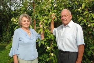 Laikas bėga. Aldona ir Vincas Narušiai po 60 metų