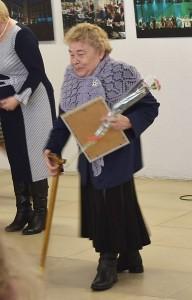 Neįgaliųjų draugijos padėka įvertintas savanorės Aldonos Petkevičiūtės darbas.