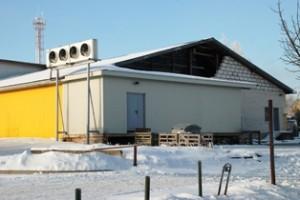 Rajono politiko įmonės pastato patalpos prasiplėtė nesilaikant galiojančio projekto.
