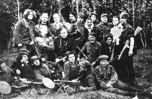 Juozo Zurzos partizanų būrys. Balninkai. 1945-1947 metai.