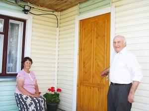 Šeimininkai džiaugiasi prieš 14 metų įsigytu namu.