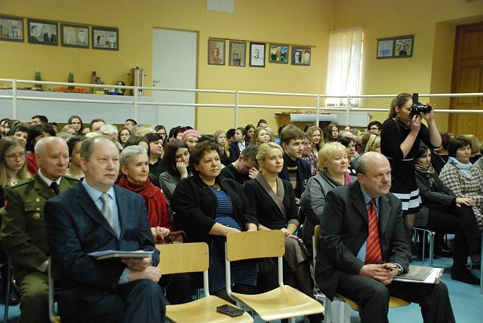 """Gausus būrys musninkiečių susirinko į Musninkų bendruomenės """"Spindulys"""" organizuotą renginį."""