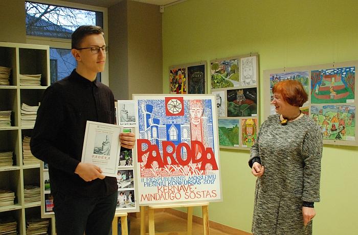 Respublikiniame piešinių konkurse taip pat pirmąsias vietas užėmė Mantauto Biloto (mokytoja Aldona Ragelskienė) darbai.
