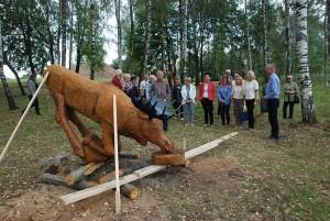 """Širvintiškis Kęstutis Norušis sugebėjo išdrožti """"Troškulį""""..."""