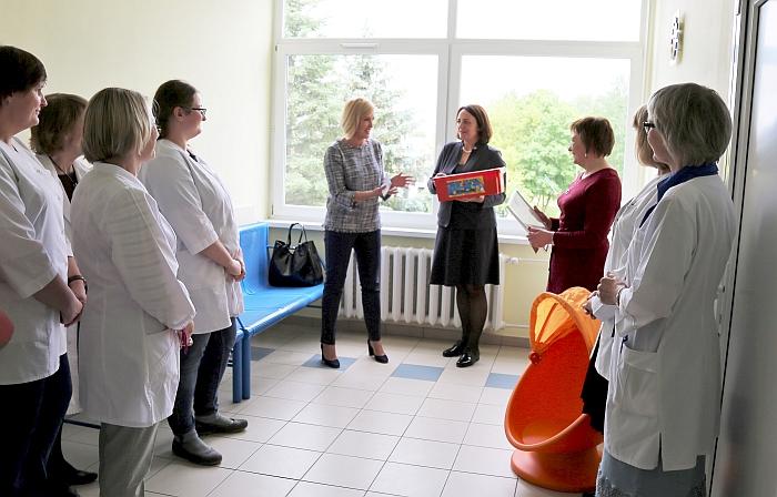 Naujas vaikų sveikatos priežiūros kabinetas