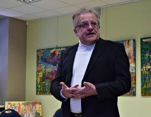 Knygos autorius prof. Vytautas Radžvilas