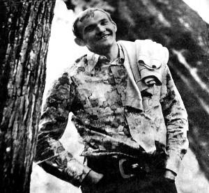 Aktorius Vladislovas Radvilavičius savo aktorystės kelio pradžioje.