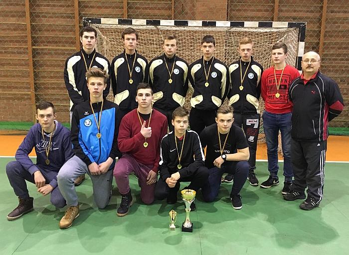 Širvintų SM riedulininkai - jaunių uždarųjų patalpų čempionai.