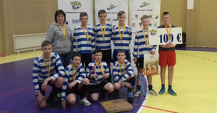 Širvintų SC berniukų komanda