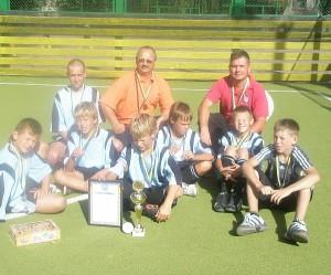 Širvintiškiai - bronzos medalių laimėtojai.