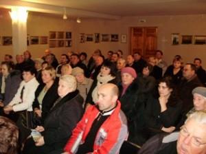Į susitikimą atėjo palyginti daug žmonių.