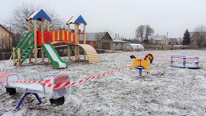 Motiejūnų vaikų žaidimo aikštelė