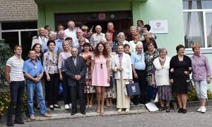 Buvę ir esami Bagaslaviškio saviveiklininkai.
