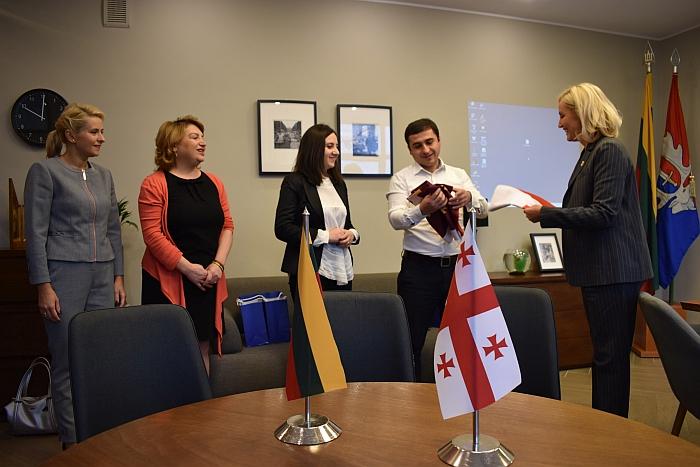 Rajone apsilankė delegacija iš Gruzijos