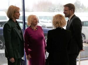 Živilė Pinskuvienė ir Stanislava Maslinskienė renginyje bendravo su ministru Linu Kukuraičiu.