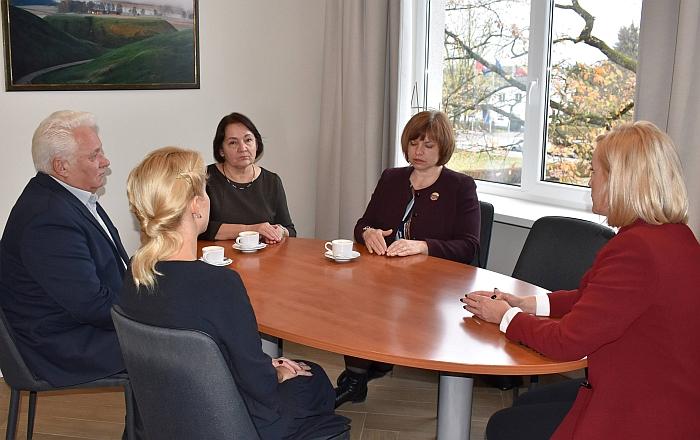 Susitikimas su VMI atstovais