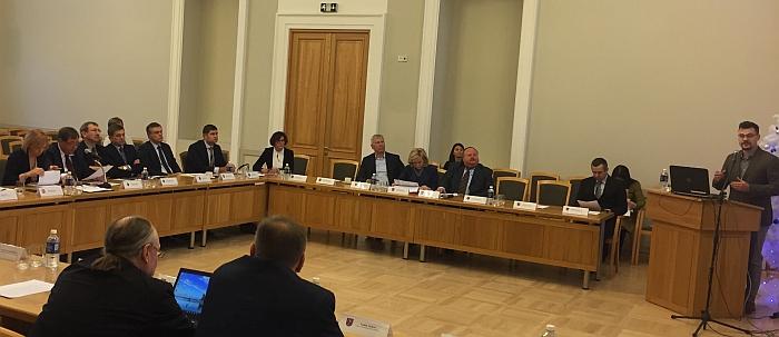 Plėtros tarybos posėdyje.