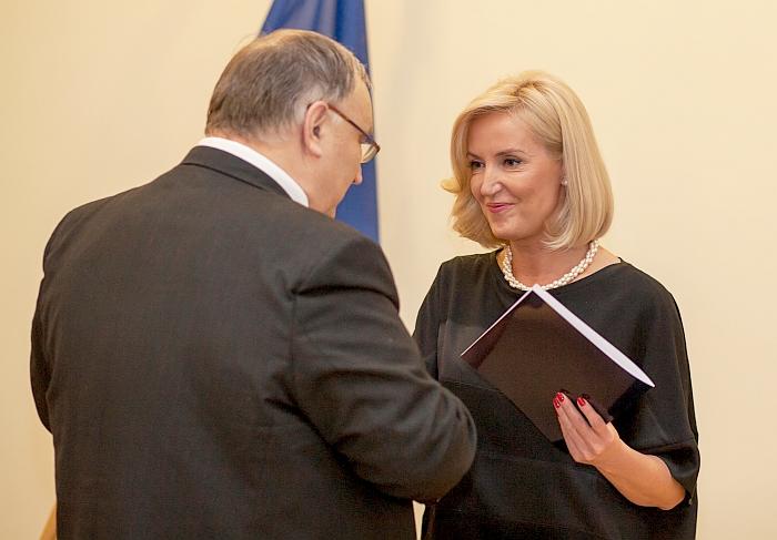 Steponas Liktoravičius pasveikino Živilę Pinskuvienę