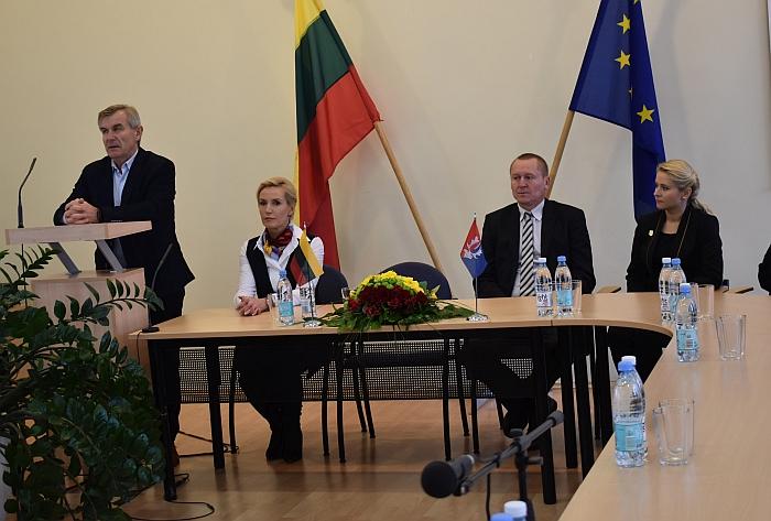 Seimo pirmininko vizitas Širvintose