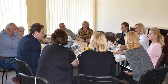 Susitikimas Savivaldybėje