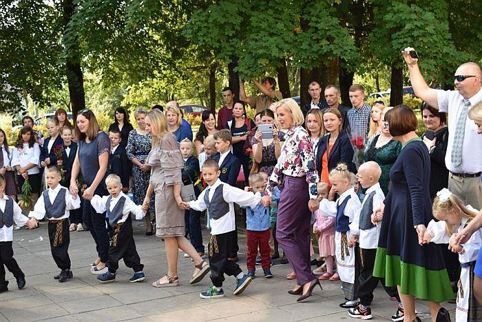 Mokslo metų pradžios šventė Bartkuškio mokykloje-daugiafunkciniame centre