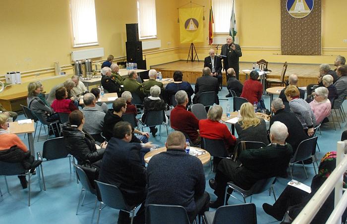 Renginyje dalyvavo Lietuvos savanorių giminės ir artimieji.