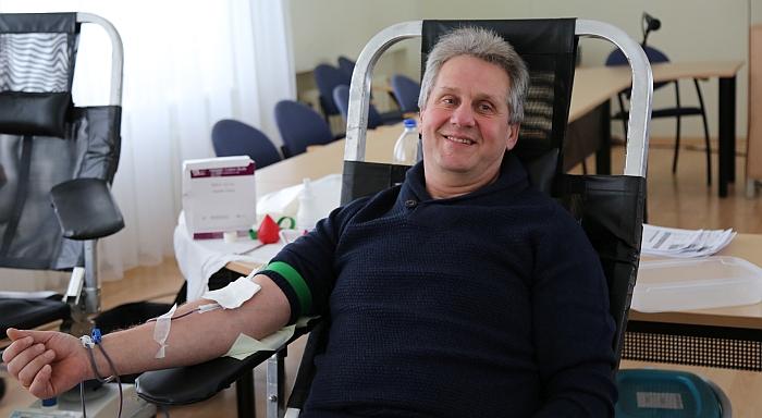 Kraujo donorystės akcija Širvintų savivaldybėje.
