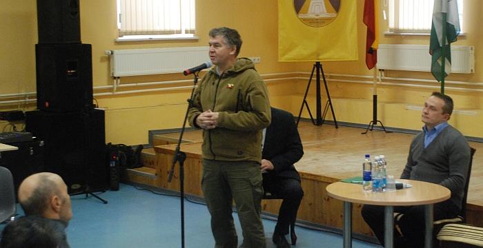 Apie Musninkų mūšį pasakoja istorijos profesorius, mokslų daktaras, Kauno tvirtovės parko direktorius Valdas Rakutis.
