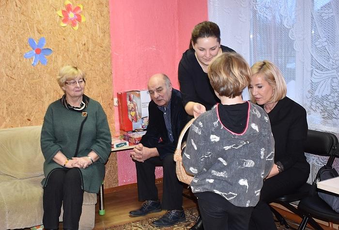 Vaikų dienos centro Alionyse atidarymas