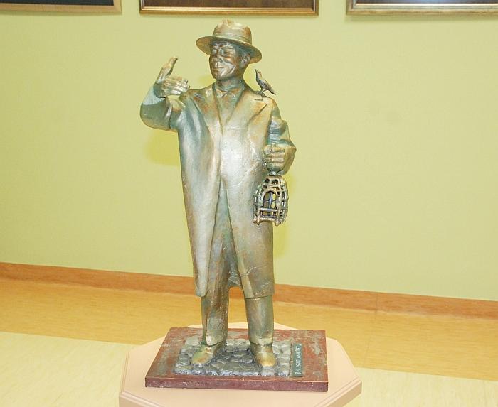 Pagal šį modelį Širvintose ir bus statomas paminklas rašytojui Ignui Šeiniui
