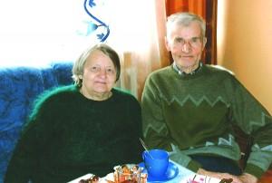Prakseda ir Vincas Šemėtos skaičiuoja 64-uosius bendro gyvenimo metus.