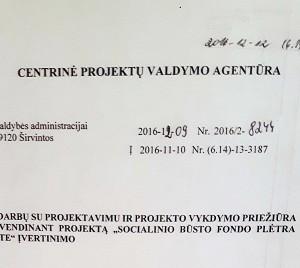 Savivaldybė gavo CPVA raštą dėl Vyto Šimonėlio skundo