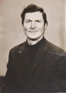 Silvestras Jakubauskas jaunystėje.