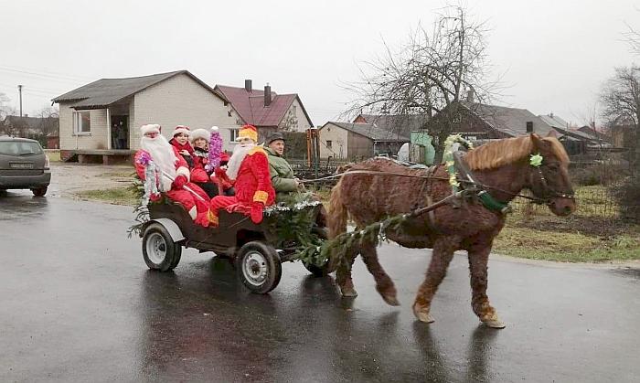 Kalėdos Širvintų kaime