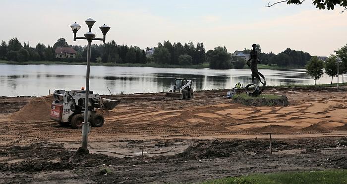 Šiuo metu Širvintose vykstantys darbai - Vilniaus regiono integruotos teritorijų vystymo programos dalis.