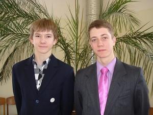 Domantas Kancleris ir Aivaras Četrauskas.