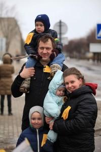 Erikos ir Remigijaus Svirskų šeima džiaugiasi atvykę gyventi į Spietiškių kaimą.