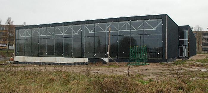 """Kalbėdamas apie statomą Sporto centrą, Vytas Šimonėlis pasakė, kad tai bus """"amžiaus statyba"""". Gal tai užuomina, jog bus pasistengta, kad statyba užtruktų ištisus """"amžius""""?"""